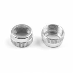 308351 Xray NT1 T2 Shock Cap-Nut Alu (2)