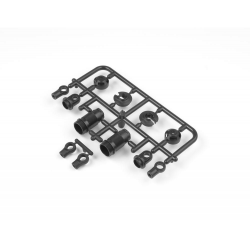 308330 Xray NT1 T2 Composite Frame Shock Parts 4-Step