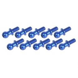 3 Racing Uniball 4.8mm L6 a vite (10pz) Blu