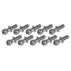 3 Racing Uniball 4.8mm L6 a vite (10pz) Titanio