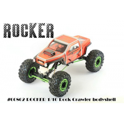 Blitz 1/10 Rocker Rock Crawler Body-shell with Decals