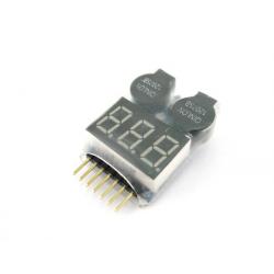 TopCad Li-Po Voltage Display + Buzzer for Li-Po Battery