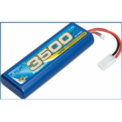 LRP LiPo Power Pack 3500mAh 7.4V (25C) Stickpack Hardcase Tamiya