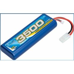 LRP Pacco Batteria LiPo Power Pack 3500mAh 7,4V (25C) Tamiya