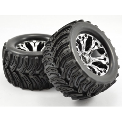 Fastrax ARROW 1/10 Monster Truck Tires (2)