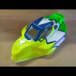 Delta Plastik Buggy Bulldog 1/8 Off/Road Body for Kyosho MP9