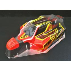 Delta Plastik Buggy Flash 1/8 Off/Road Body for Mugen/Associated/SWorkz