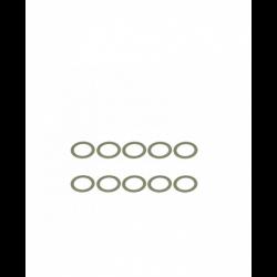 ArrowMax Rasamenti in acciaio 8x11x0.2mm (10pz)