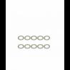 ArrowMax Stainless Shims 8x11x0.2mm (10pcs)