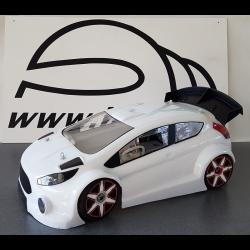 BYSM SM 18 Carrozzeria Ford Fiesta (1/8 Rally) (Lexan 1,5mm)