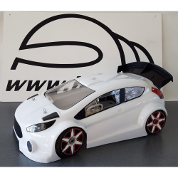 BYSM SM 18 Ford Fiesta 1/8 Rally Game Body (Lexan 1,5mm)