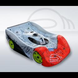 BYSM SM 17 GT 1/8 Rally Game Body (Lexan 1,5mm)