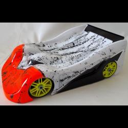 BYSM SM 19 GT 1/8 Rally Game Body (Lexan 1,5mm)
