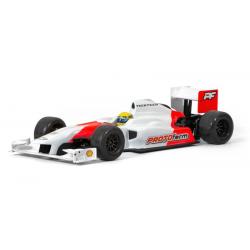 Protoform Carrozzeria Thirteen Formula 1 EP con adesivi