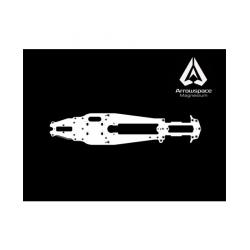 AM-900016 ArrowMax Chssis Arrowspace Magnesium for Mugen MRX6R