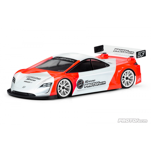 Protoform TURISMO X-Lite 1/10 EP Touring 190mm Body With Decals