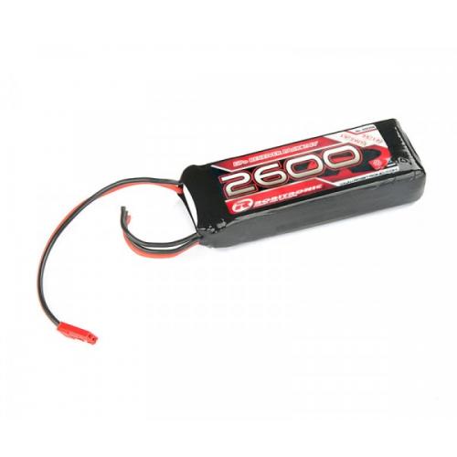 Robitronic LiPo RX 7,4V 2700mAh 25C RX Straight Receiver Pack