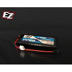 EZ Power LiPo RX 7,4V 2200mAh 25C RX Flat Receiver Pack