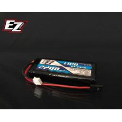 EZ Power Pacco Batteria LiPo RX 7,4V 2200mAh RX (Piatto)