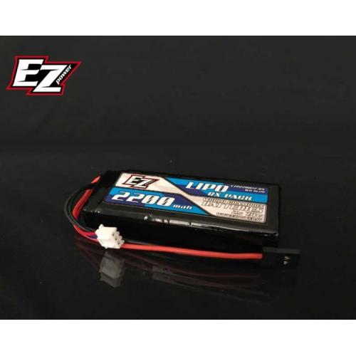 EZ Power LiPo RX 7,4V 2200mAh 25C RX Flat Receiver Pack