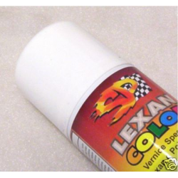 SP Racing lexan Spray Paint 200ml (White)