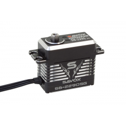 Servocomando Digitale Brushless Savox MONSTER SB-2290SG HV 7.4V