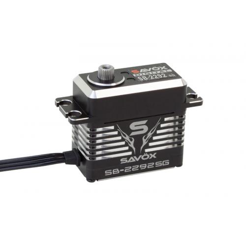 Savox SB-2292SG MONSTER HV Standard Size Brushless Digital Servo