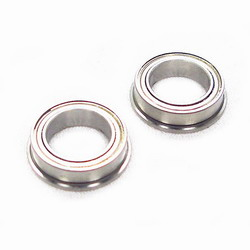 F0040 Edam Flanged 5x8x2.5mm Bearings (2pcs)