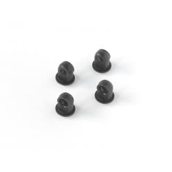 H0160 Edam Shock Upper Ball End (4pcs)