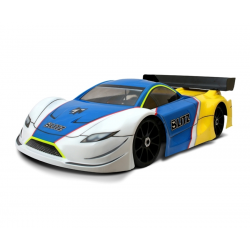 Blitz Carrozzeria GT4 con adesivi (1/8 - Rally - GT)