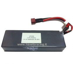 Himoto Pacco Batteria LiPo Hard Case 3500mAh 25C 11,1V