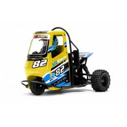 Automodello Elettrico X-Rider Flamingo Triciclo Ape Car RTR 1/8