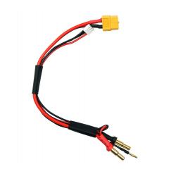 SkyRC Cavo ricarica batterie 2S XT60 e connettori 4/5mm