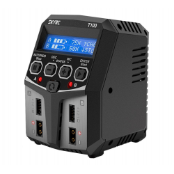 SkyRC T100 AC 220V 5A Double Charger 2x50W