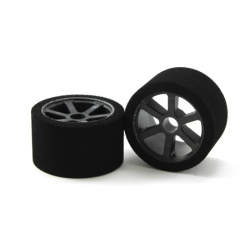 Matrix Front Pan Car 1/12 Mounted on Carbon Rims (40 Shore)