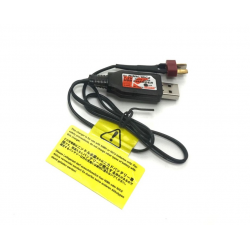 Kyosho Caricabatterie USB Delta Peak 250mAh con spina Deans