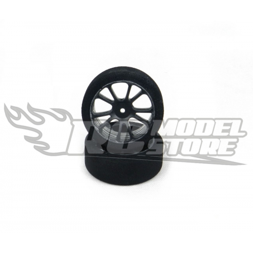 SP Racing GOLD Front Touring Car 1/10 Mounted on Carbon Rims (37 Shore)