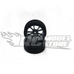 SP Racing GOLD Rear Touring Car 1/10 Mounted on Carbon Rims (37 Shore)