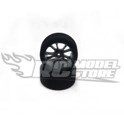 SP Racing Gomme in spugna GOLD 30mm 1/10 37 Shore Cerchio Carbon