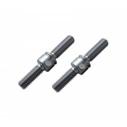 ArrowMax Tiranti in titanio 22mm per Mugen MRX5