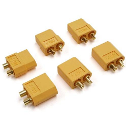 Yeah Racing XT60 Plug Set (3 Male 3 Female)