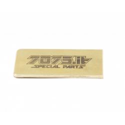 7075.it Piastrina 5gr peso ottone lato batteria per Xray T4 20 telaio Carbon