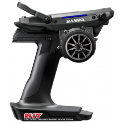 Sanwa M17 FH5 2.4GHz Radio System w/RX491 4-Channel Receiver