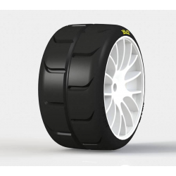 PMT SUPREME SS0 Super Soft Touring 1/5 Tires Mounted on P2 Rims