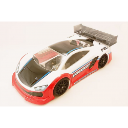 Sweep P2L GT 1/8 Rally Clear Body with Decals