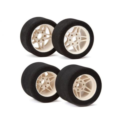 "Matrix Front/Rear 1/8 On/Road Tires on Rims PRECISION""""Light 32/35 Shore"
