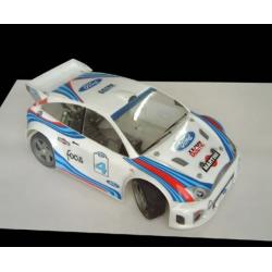 Delta Plastik Ford Focus 1/8 Rally Game Body