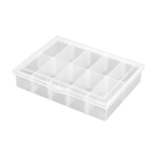 Robitronic Assortment Case 10 Compartments 134x100x29mm