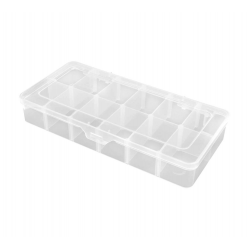 Robitronic Assortment Case 12 Compartments 260x125x43.5mm