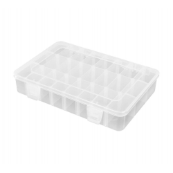 Robitronic Assortment Case 24 Compartments 202x137x40mm